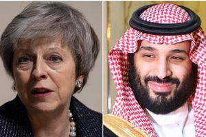 Thủ tướng Anh sẽ gặp Thái tử Saudi Arabia vì vụ nhà báo Khashoggi