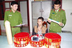 Liên tiếp bắt quả tang 2 vụ vận chuyển pháo nổ về Hà Nam tiêu thụ