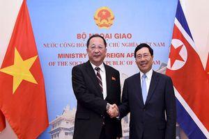 Việt Nam khẳng định sẽ ủng hộ hòa bình, ổn định và hợp tác trên Bán đảo Triều Tiên