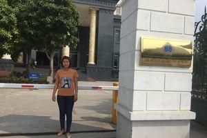 Vợ tài xế container Lê Ngọc Hoàng: 'Tôi lại có hy vọng!'
