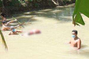 Thi thể phụ nữ 49 tuổi bị trói, dìm dưới mương nước