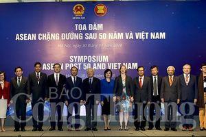 Bàn về chặng đường tiếp theo của ASEAN sau 50 năm thành lập