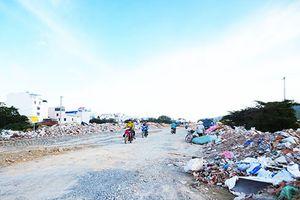 Nha Trang: Lập bãi đổ xà bần tạm thời