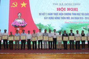 TX Đông Triều sơ kết 3 năm thực hiện Chương trình xây dựng nông thôn mới