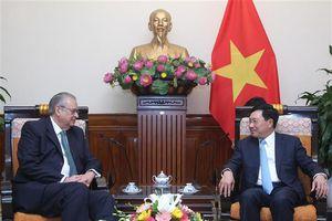 Các hoạt động của Phó Thủ tướng Phạm Bình Minh