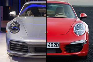So găng 2 thế hệ xe Porsche 911 Carrera: thay đổi từ bên trong
