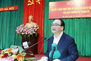 Hội nghị sơ kết 5 năm thực hiện Đề án số 06-ĐA/TU của BTV Thành ủy Hà Nội:Sắp xếp theo hướng gọn nhẹ, hiệu quả, rõ chức năng nhiệm vụ của các cơ quan, tổ chức