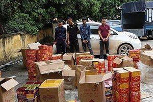 Phát hiện 'kho' pháo hơn 300 kg tại nhà đối tượng nữ