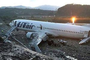 Những tai nạn khó ngờ khi hạ cánh của hàng không thế giới
