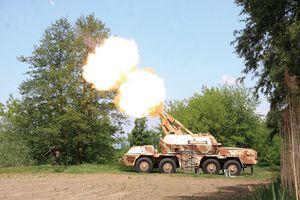 'Mổ xẻ' sức mạnh pháo tự hành DANA-M1 của CH Séc