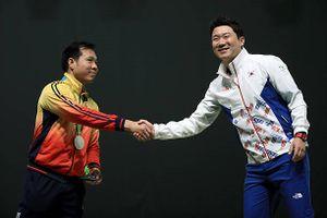Xạ thủ Hàn Quốc từng 4 lần vô địch Olympic đến Việt Nam