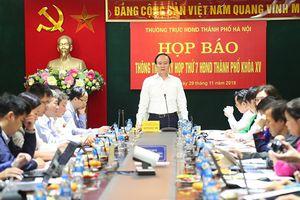 Hà Nội lấy phiếu tín nhiệm người giữ chức vụ tại kỳ họp HĐND Thành phố