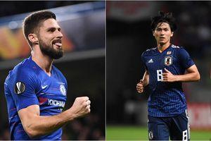 Vua phá lưới Europa League: Olivier Giroud theo sát sao Nhật Bản