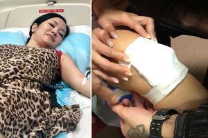 Chuyện showbiz: Hồng Nhung bị chấn thương, phải nhập viện điều trị gấp
