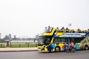 Hà Nội có thêm tuyến xe bus 2 tầng phục vụ khách du lịch