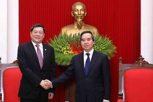 Tăng cường giao lưu, trao đổi kinh nghiệm, thúc đẩy quan hệ hữu nghị Việt Nam - Trung Quốc