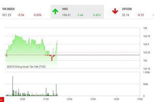 Phiên sáng 30/11: VNM và dòng bank không cứu nổi thị trường
