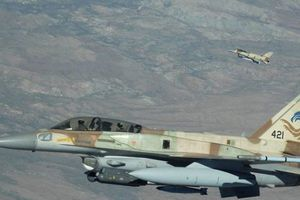 SAA cảnh giác cao khi các chiến đấu cơ Israel bay lượn trên biên giới Damascus