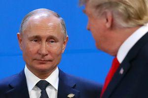 Khoảnh khắc ông Trump-Putin chạm mặt tại G20 sau khi thượng đỉnh đổ vỡ