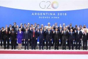 Lãnh đạo các nước gặp mặt tại Hội nghị G20 ở Argentina
