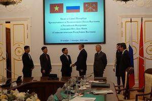 Saint Petersburg khẩn trương xúc tiến Năm chéo LB Nga tại Việt Nam và ngược lại