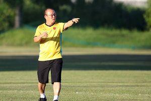 HLV Park Hang Seo không bắt tay với ông Eriksson trước 'đại chiến'?