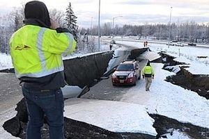 Mỹ: Động đất mạnh 7 độ Richter ở bang Alaska, cảnh báo sóng thần
