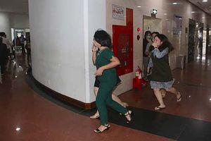 Đà Nẵng: Diễn tập PCCC tại tòa nhà Trung tâm hành chính