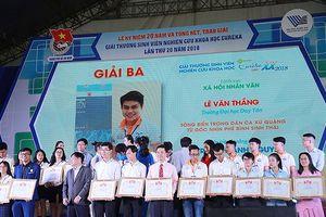 Sinh viên Duy Tân giành giải Nghiên cứu Khoa học Euréka 2018