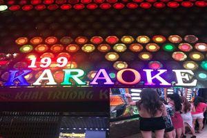 Tiếp viên karaoke mặc mát mẻ tiếp khách ngoại quốc ở Sài Gòn