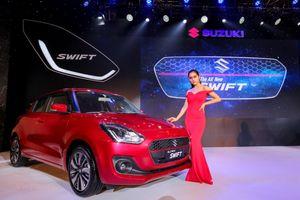 Cận cảnh mẫu xe The All New Swift mới ra mắt của Suzuki