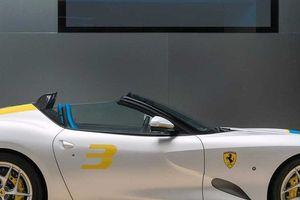 Diện kiến Ferrari SP3JC - Siêu xe mui trần độc nhất thế giới