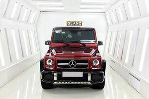 Đại gia Việt chi hơn 1 tỷ đồng sơn Mercedes-Benz G63 AMG