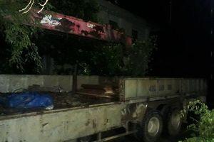Quảng Nam: Phát hiện kho gỗ không giấy tờ tại thủy điện Sông Tranh 3