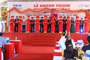 Quảng Nam: Khánh thành giai đoạn 1a nhà máy nước Phú Ninh