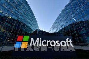 Microsoft 'vượt mặt' Apple về giá trị vốn hóa lớn nhất thế giới