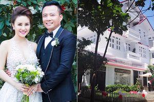 Biệt thự 40 tỷ nhà chồng đại gia của Vy Oanh hoành tráng cỡ nào?