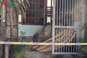 Phát hiện thi thể người đàn ông cháy đen trước cửa nhà