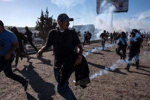 Lực lượng tuần tra biên giới Mỹ tập trận gần biên giới Mexico