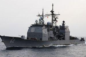 Khám phá tuần dương hạm cực mạnh Mỹ điều đến Biển Đông