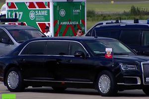 Siêu xe của ông Putin gây chú ý ở thượng đỉnh G20