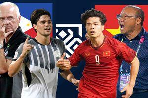 AFF CUP 2018: HLV Park, cầu thủ Việt Nam nói gì trước trận đấu với Philippines?