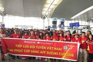 Hơn 300 CĐV trên 'chuyến bay đặc biệt' tiếp sức cho tuyển Việt Nam