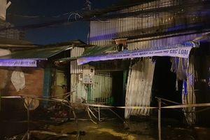 Cháy khu nhà trọ tại TP Hồ Chí Minh, một người tử vong