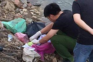 Phát hiện thi thể trẻ sơ sinh nhét balo vứt cạnh sông