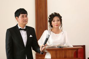 Đạo diễn Lê Minh bất ngờ lên xe hoa