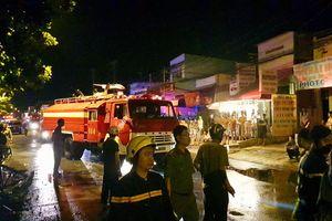 Cháy dãy nhà trọ công nhân, một cô gái trẻ tử vong