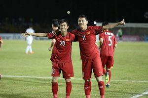 Thắng Philippines 2-1, tuyển Việt Nam giành lợi thế lớn trong trận lượt về