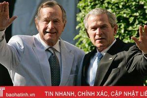 Những lời cuối cùng của Bush 'cha' gửi tới con trai George W. Bush