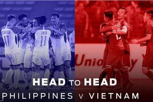 Nhìn lại những cuộc chạm trán Việt Nam vs Philippines tại AFF Cup